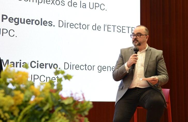 Intervenció Josep Pegueroles, director de l'ETSETB