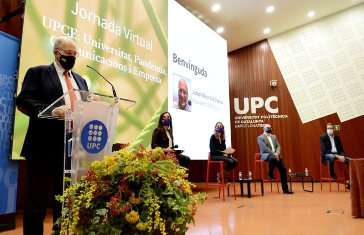 Josep M. Vilà, president d'UPC Alumni