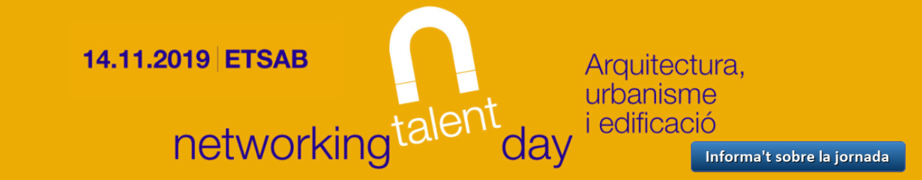 Networking Talent Day 2019 - ETSAB - Cat