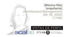 ETSAB ALUMNI - WEBINAR - Vistes de perfil, arquitecta Mónica Vila