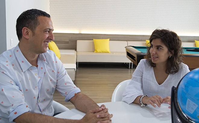 Oriol Rojals i Laura Carrio