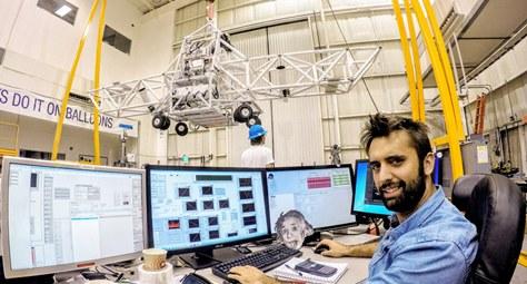 Jordi Vila als laboratoris de la NASA