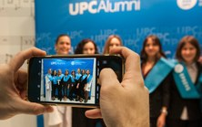 El Club UPC Vilanova Alumni present a l'acte de graduació de l'EPSEVG